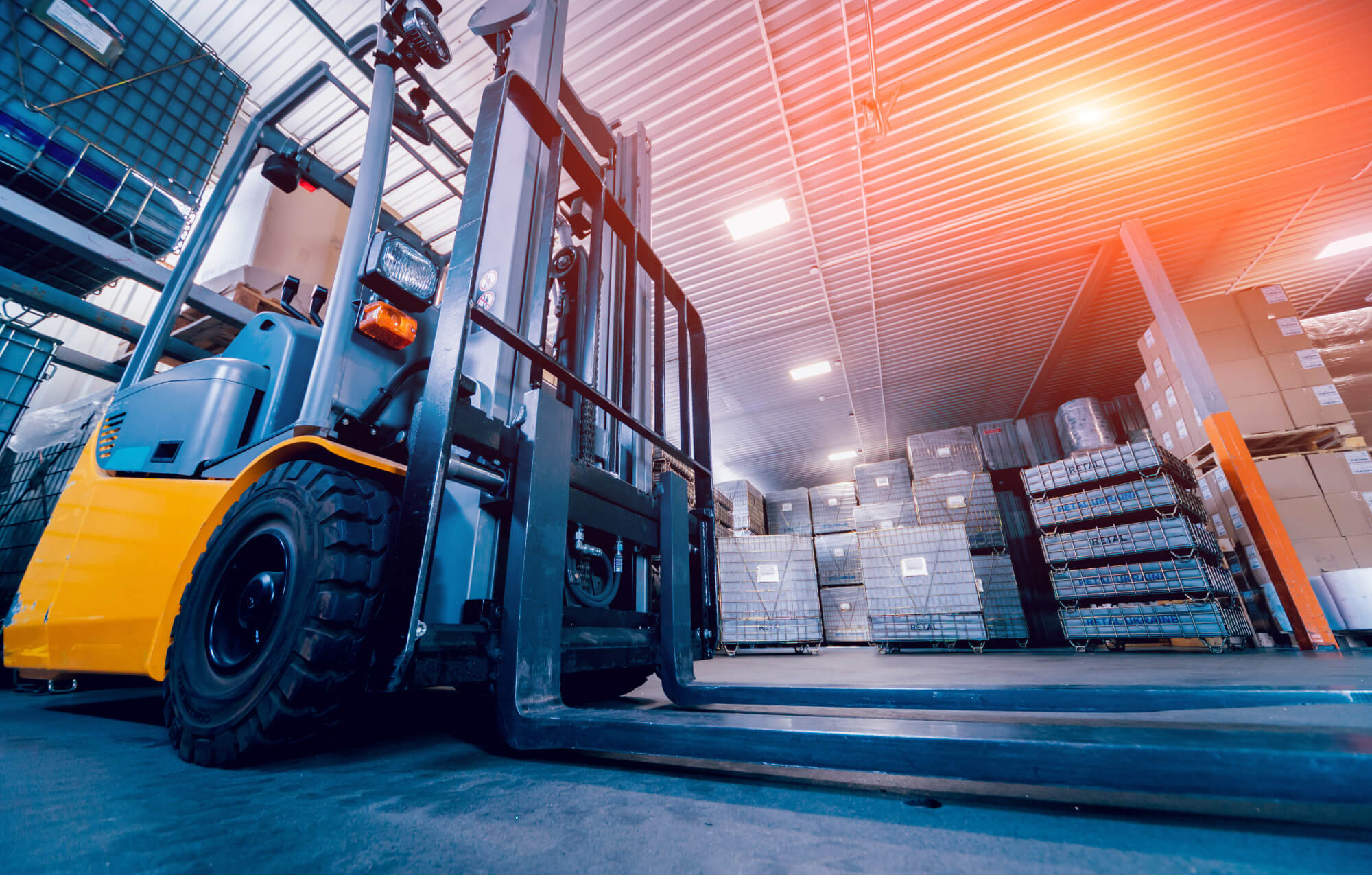 Take a look at the top reasons to buy the used forklift truck